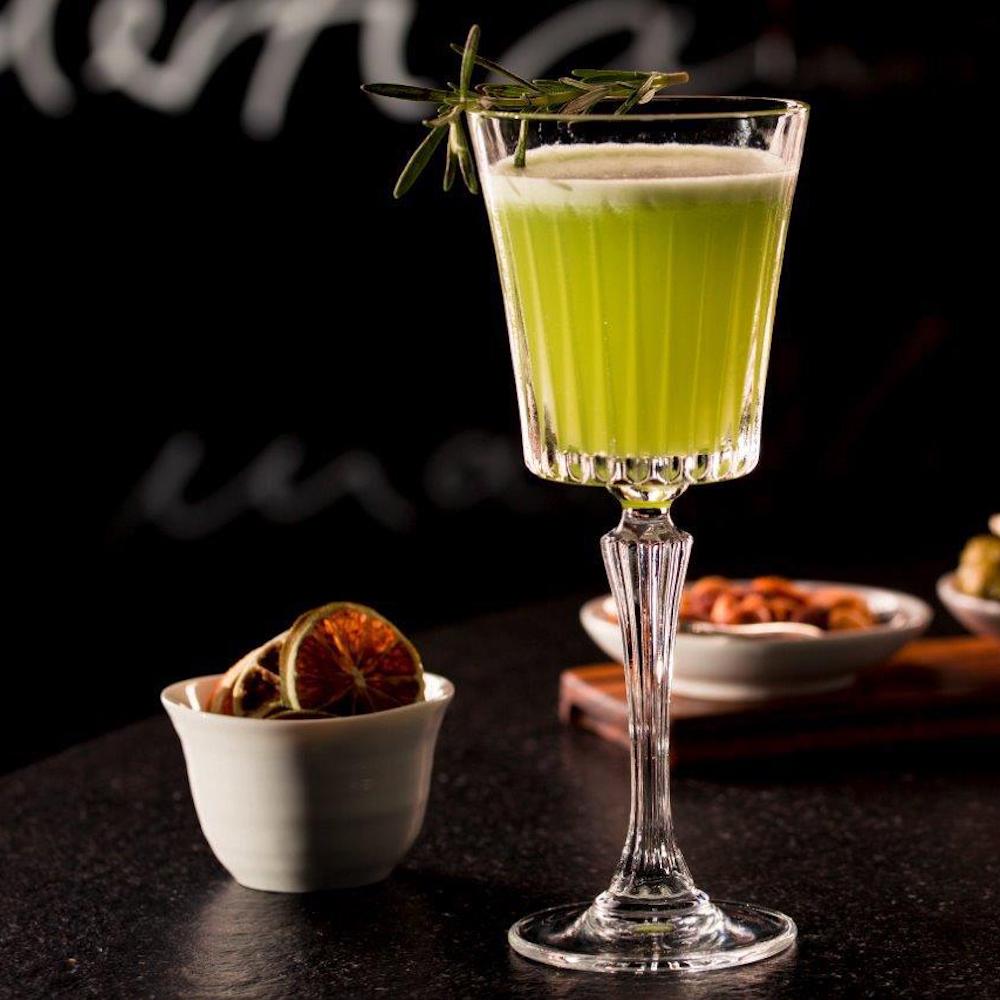 Sophia's Bar München_Green Gimlet Cocktail