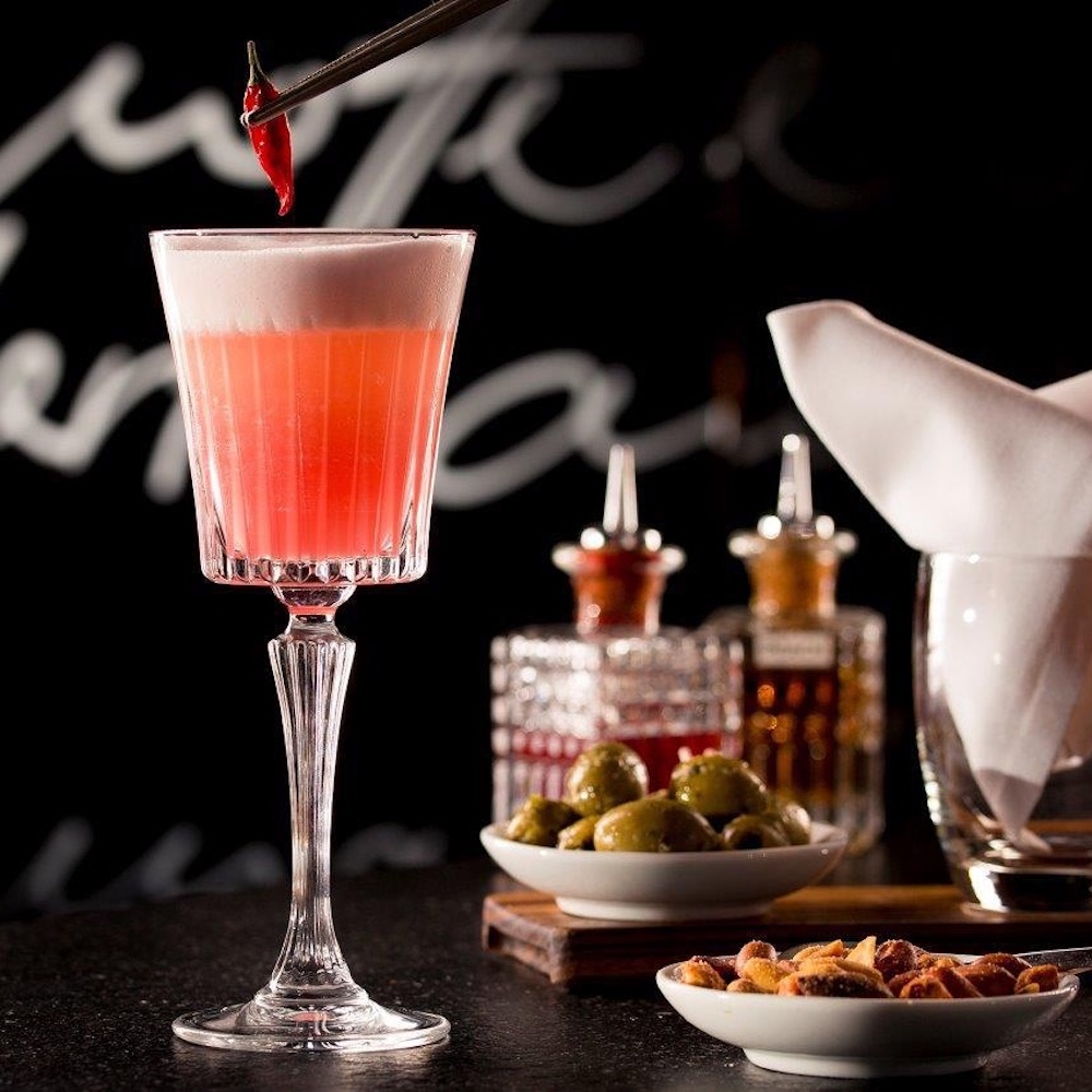 Sophia's Bar München_Schisho Cocktail mit Chili