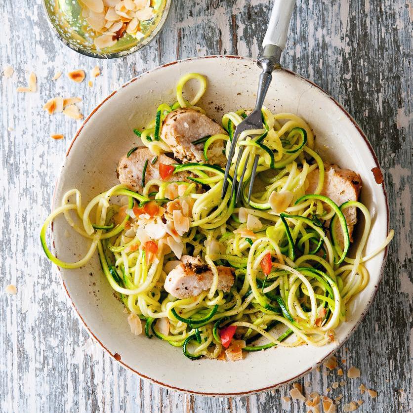 Zucchini Pasta von Marina Lommel