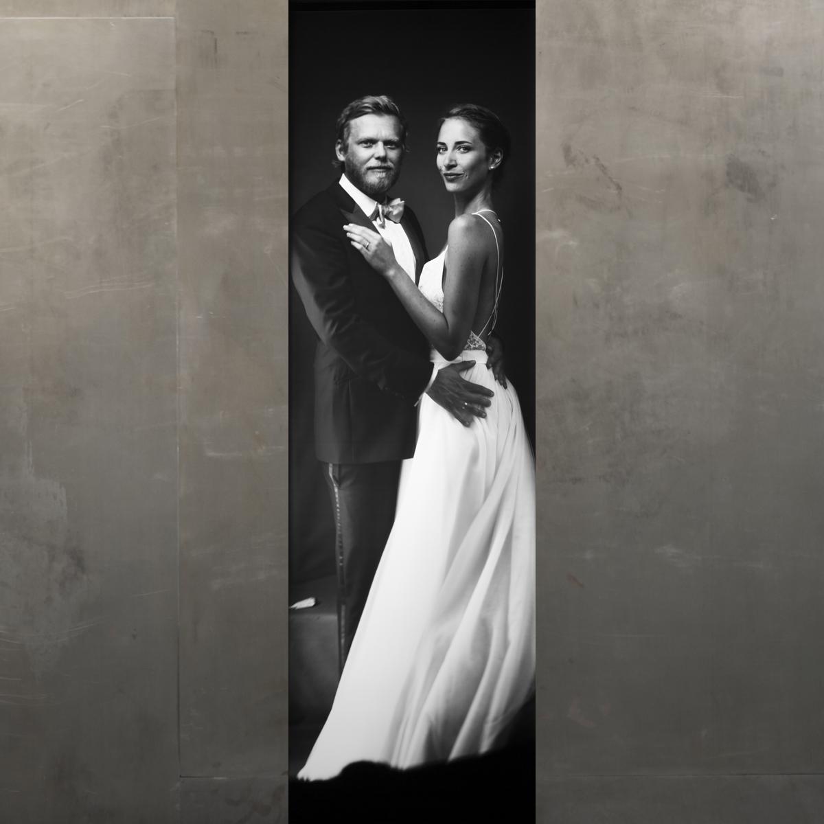 Hochzeitspaar in der Imago Camera von Susanna Kraus