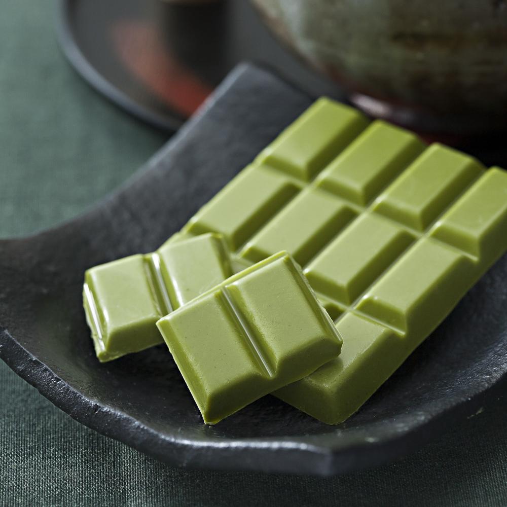 Matcha Schokolade von Nazuna Berlin
