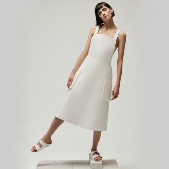 Philomena Zanetti Berlin 2017 White Dress