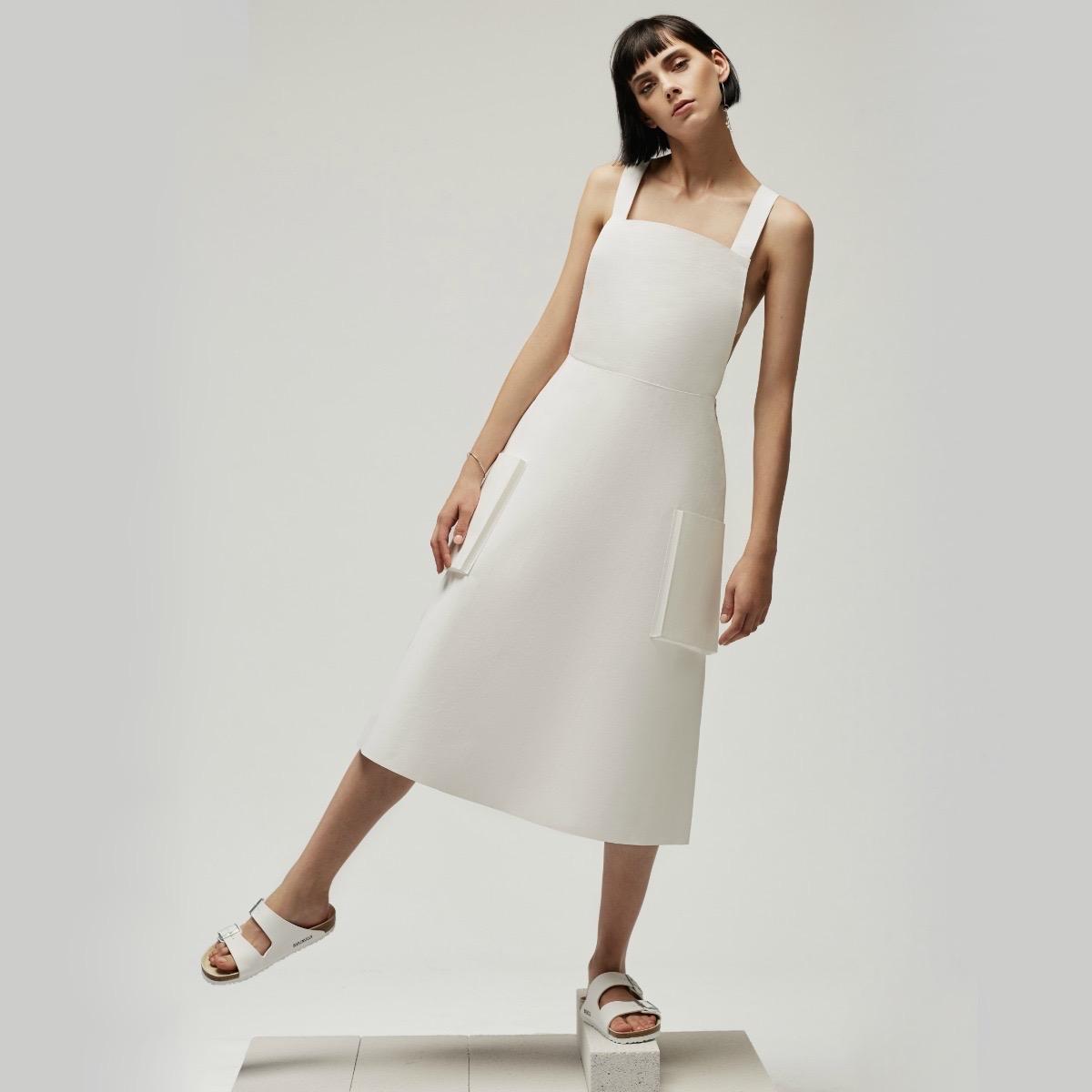 Philomena Zanetti Berlin 2017 White Dress