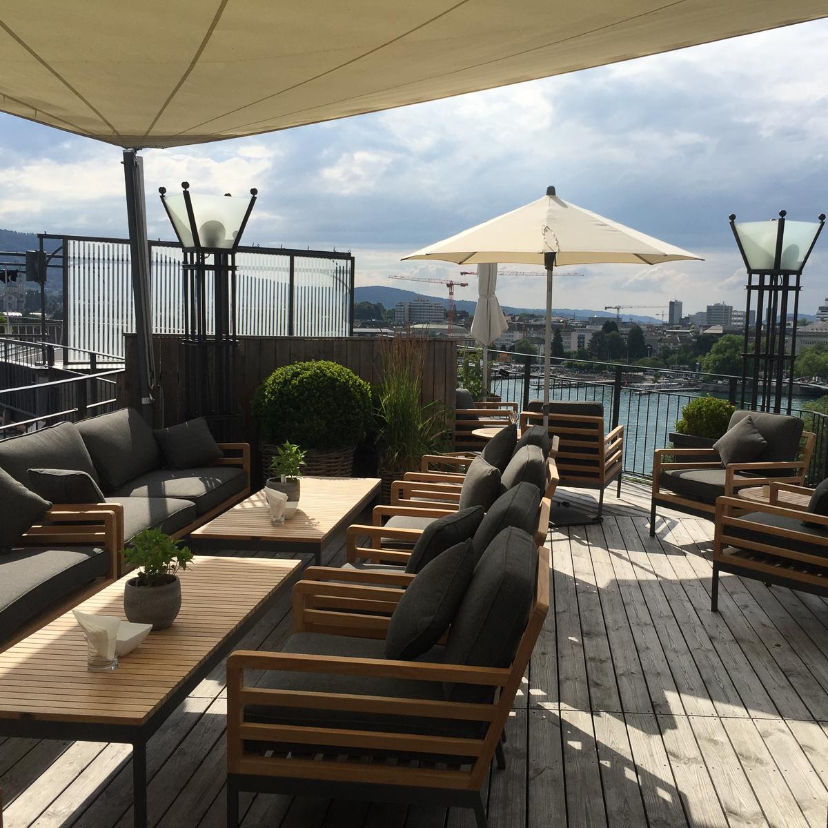 Ambassador Hotel The View Rooftop Bar Zürich