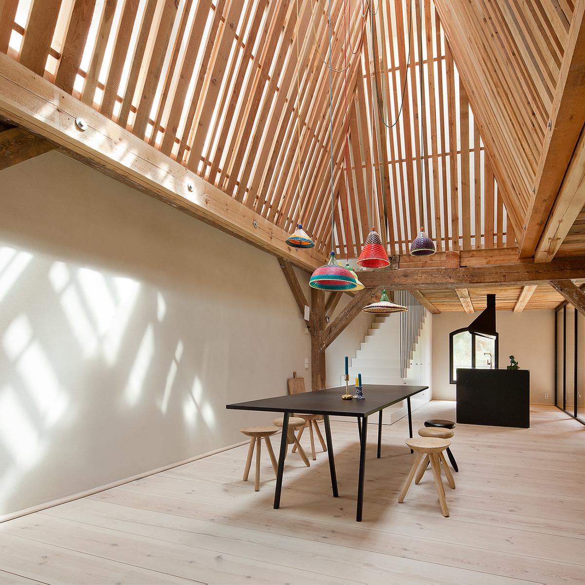 ferienwohnung rote scheune in der uckermark berlin. Black Bedroom Furniture Sets. Home Design Ideas
