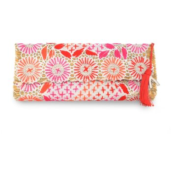 Abury Princessa Straw Clutch