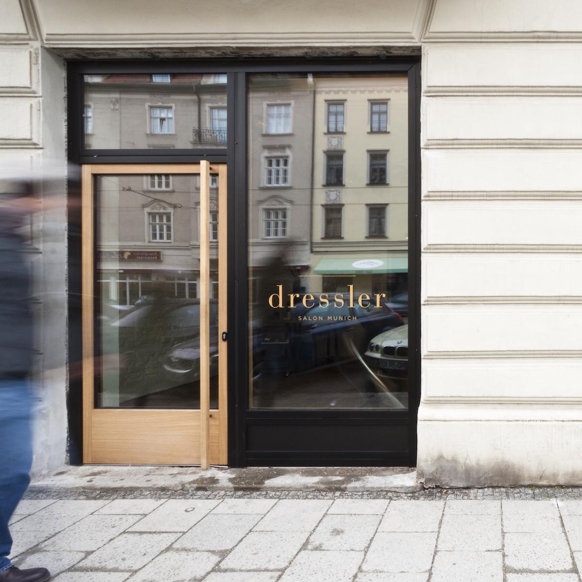 Dressler Friseur Salon Schwabing_Outside