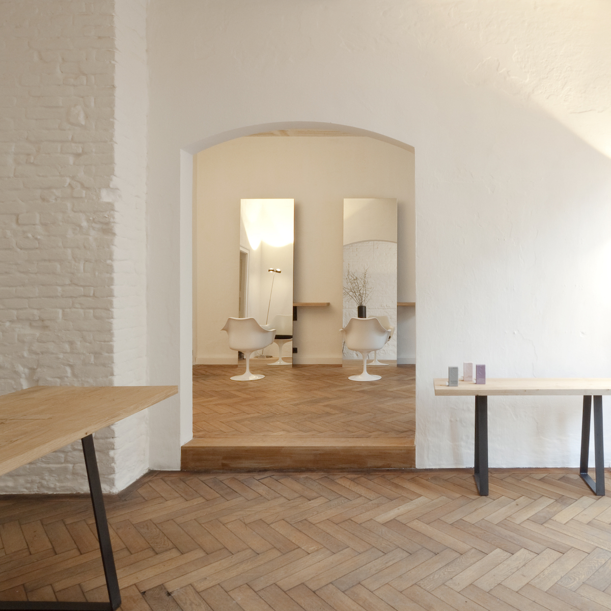 Dressler Friseur Salon Schwabing_Raumteilung