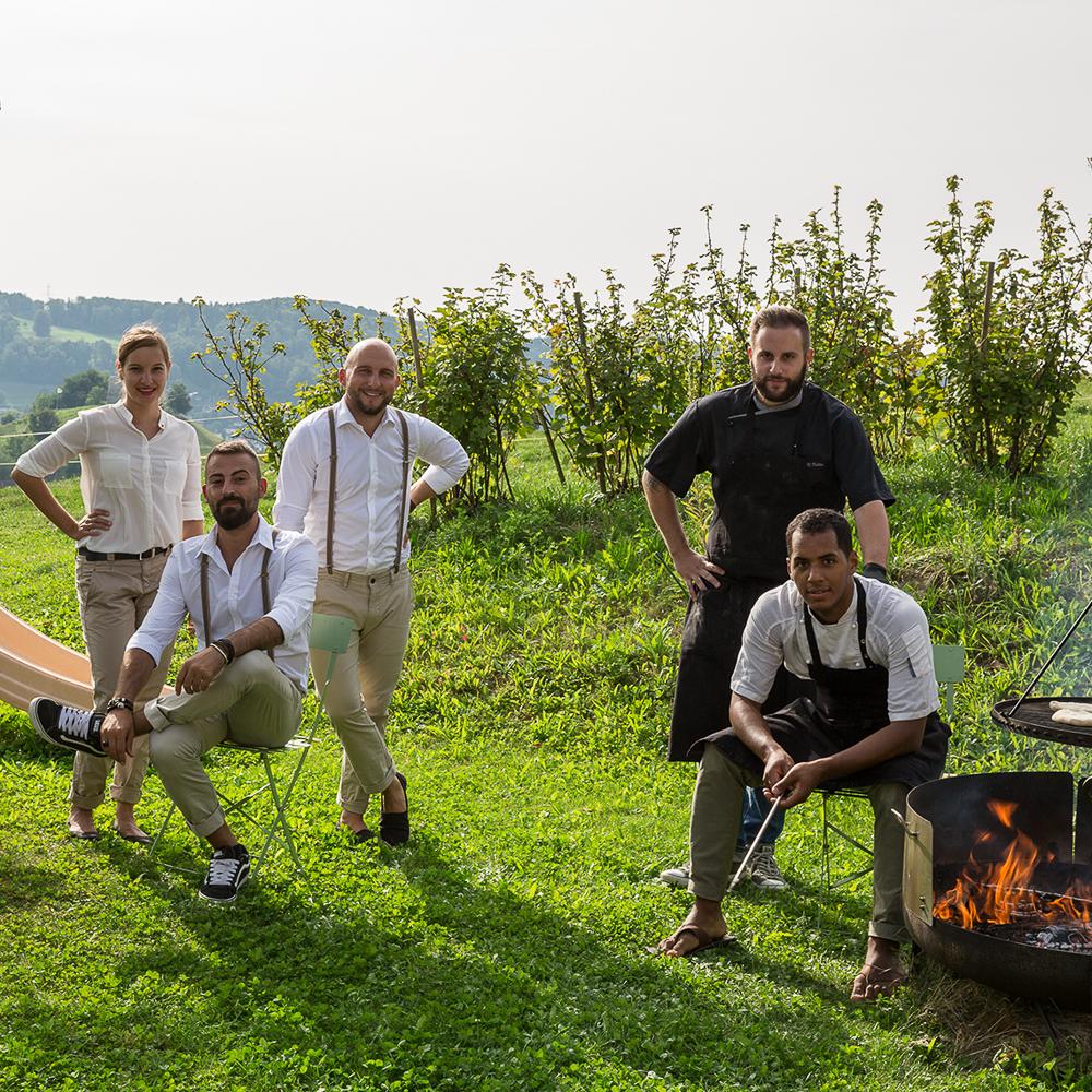 Dinner Serie Dinner im Grünen Zürich 2017-1
