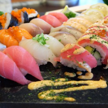 Sushiplatte Top 10 Liste Sushi Restaurants in München