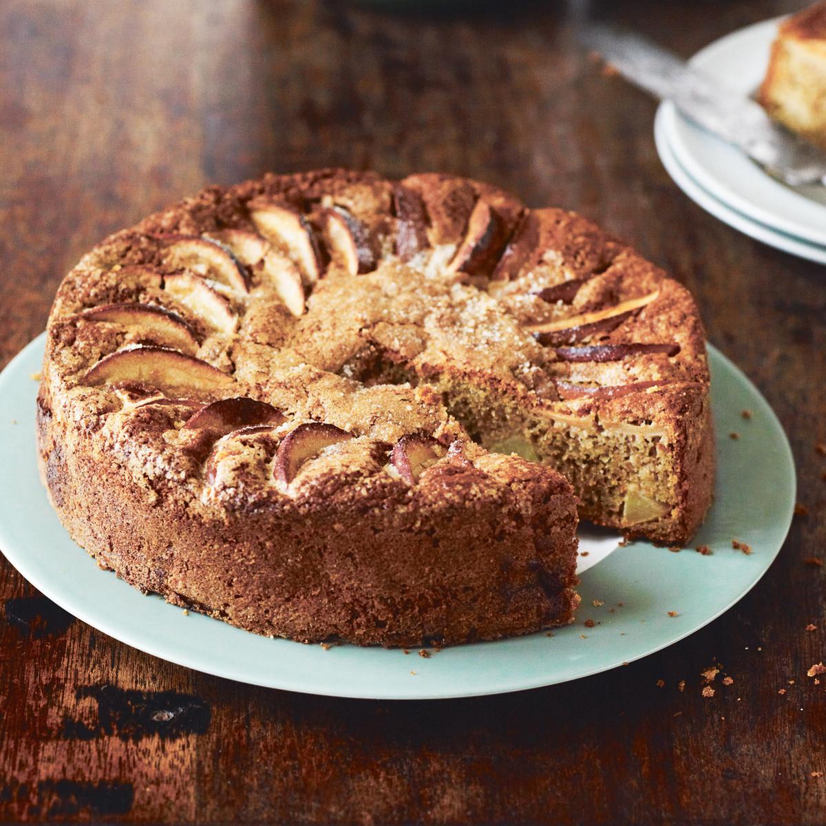 Apfel Roggen Cidre Kuchen Von Gill Meller Creme Guides