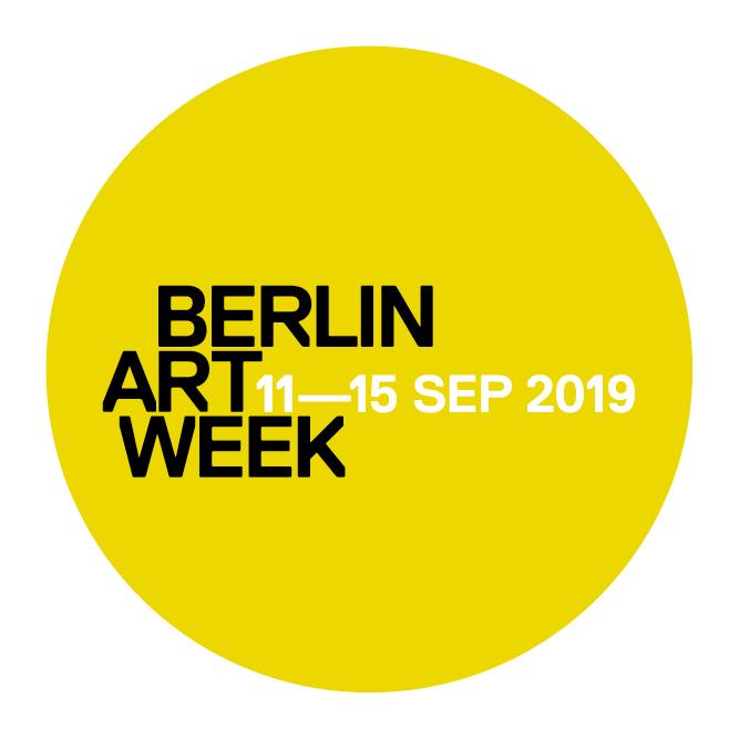 Berlin Art Week 2019