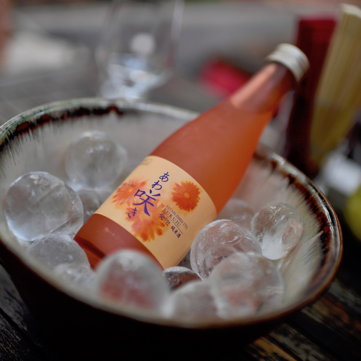 Restaurant Sushiya Sansaro München_Sparkling Sake
