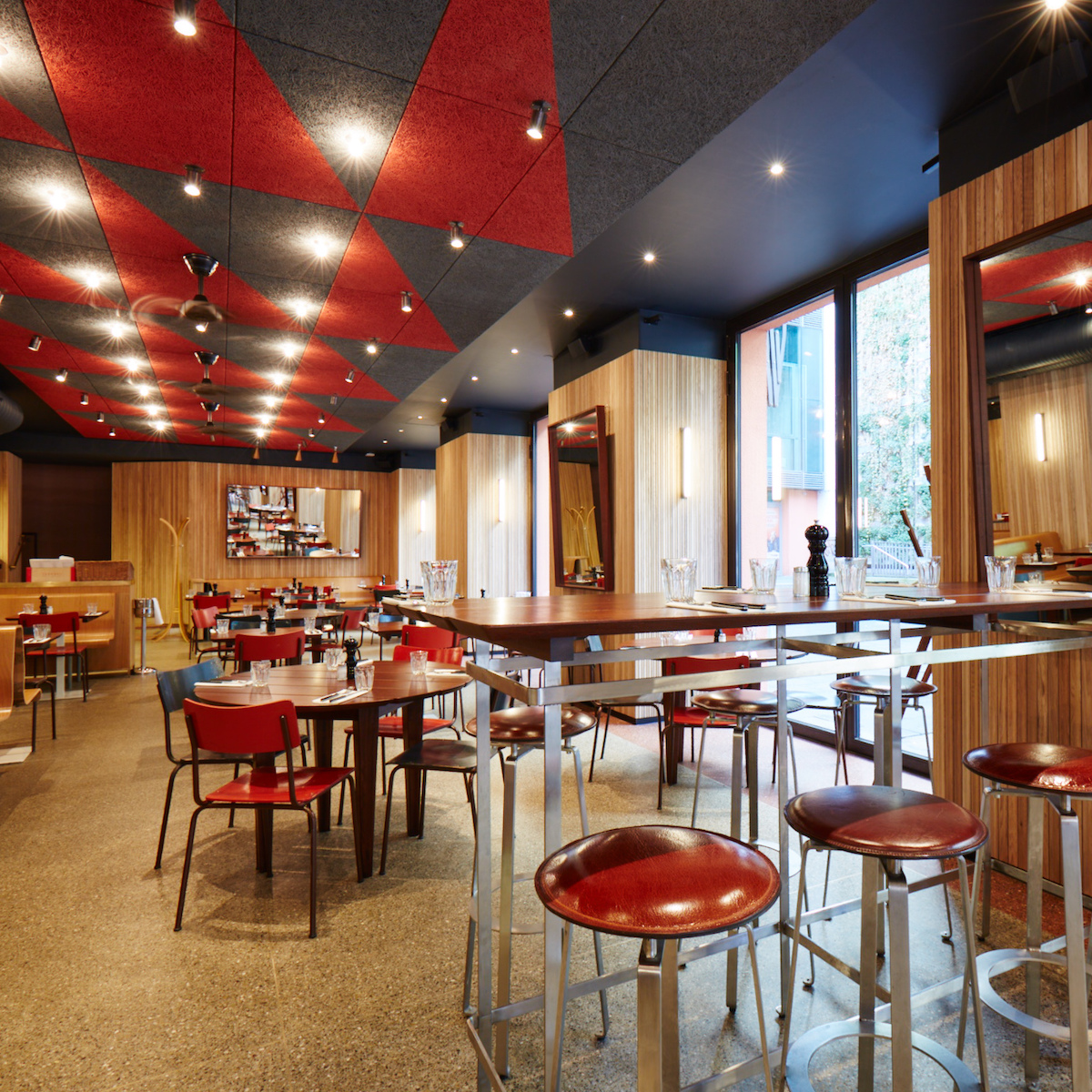 Riva Schwabing Bar Restaurant Location München