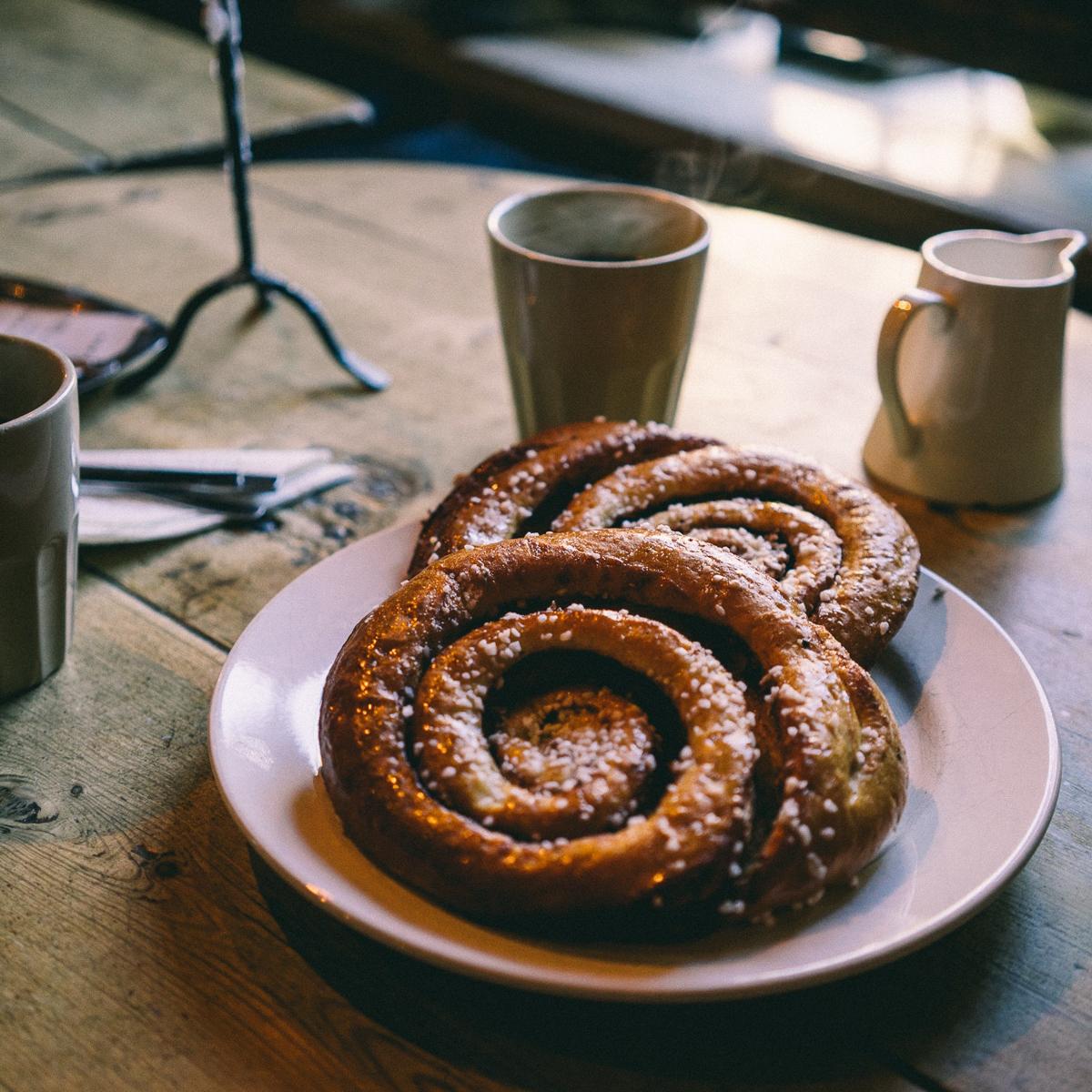 Frühstück im Herbst und Winter in Berlin