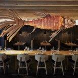 Izakaya Restaurant und Bar München_Freischwebender Fisch