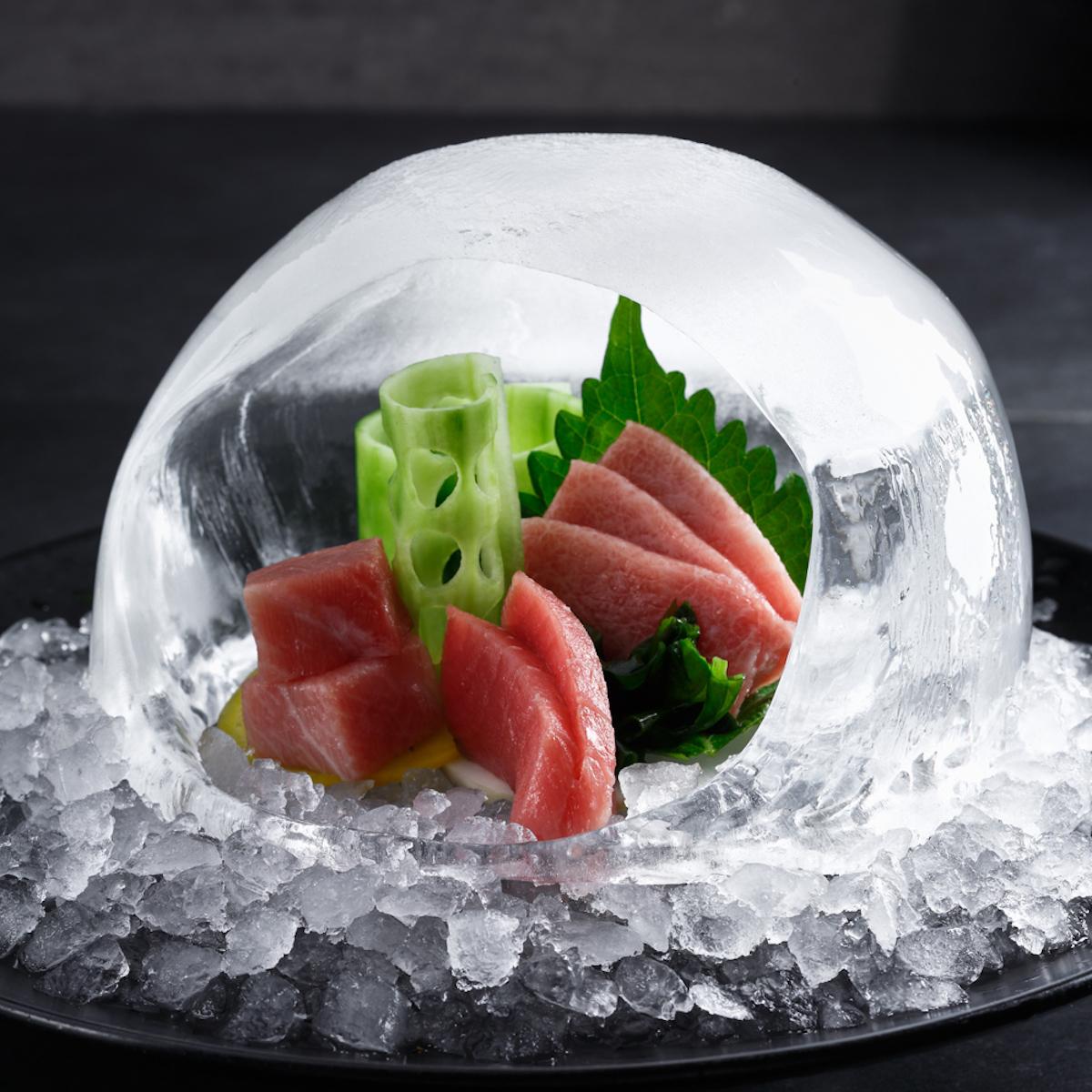 Izakaya Restaurant und Bar München_Toro Thunfisch im Momori Iglu