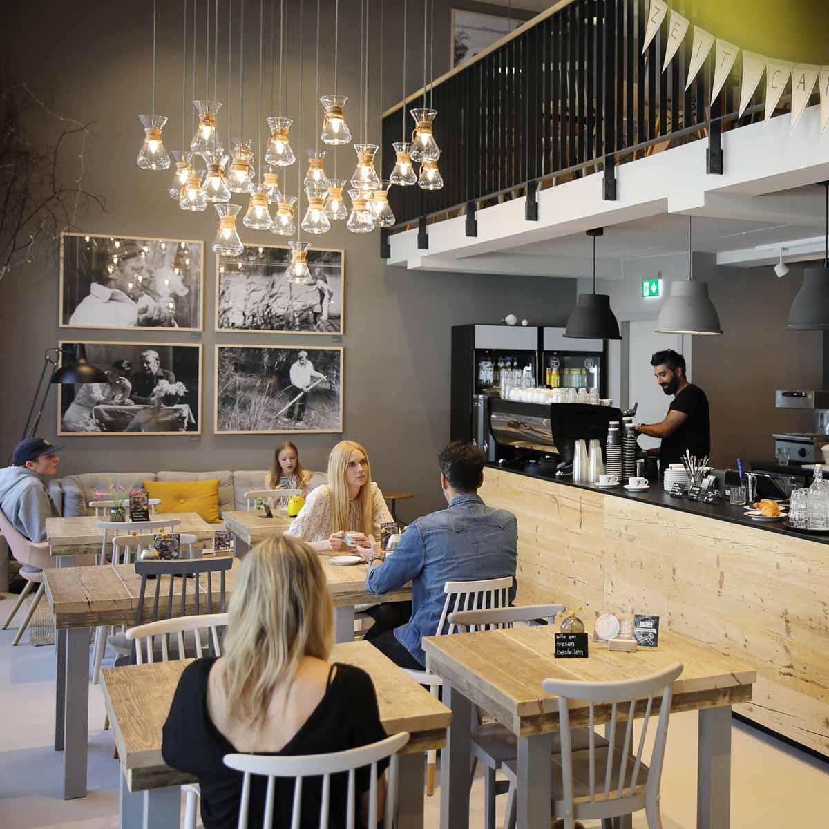 Zeit Café im Helmut-Schmidt-Haus Hamburg
