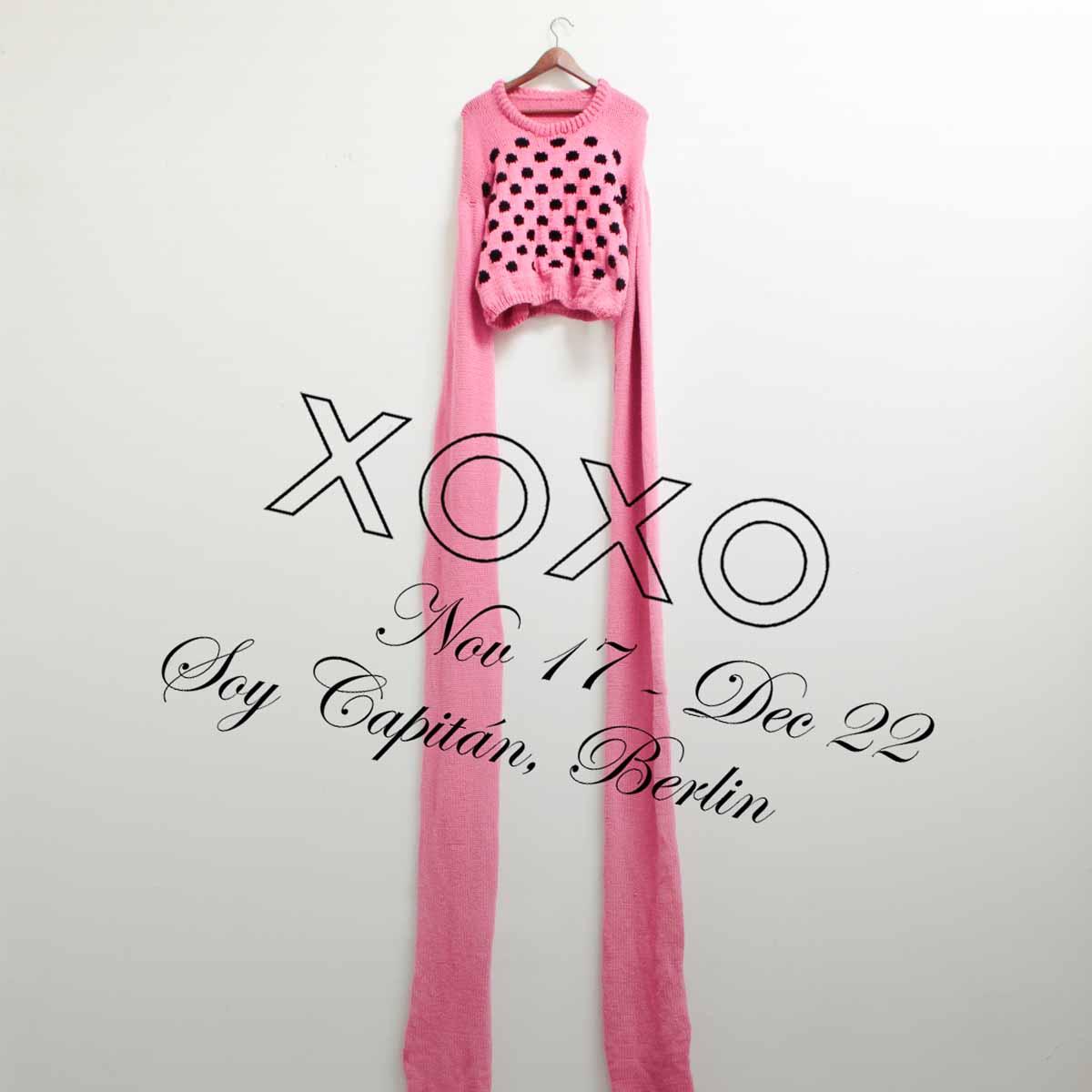 Ausstellung XOXO in der Galerie Soy Capitán Berlin Kreuzberg