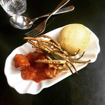 Bistro Kreuz+Kümmel Currywurst Berlin