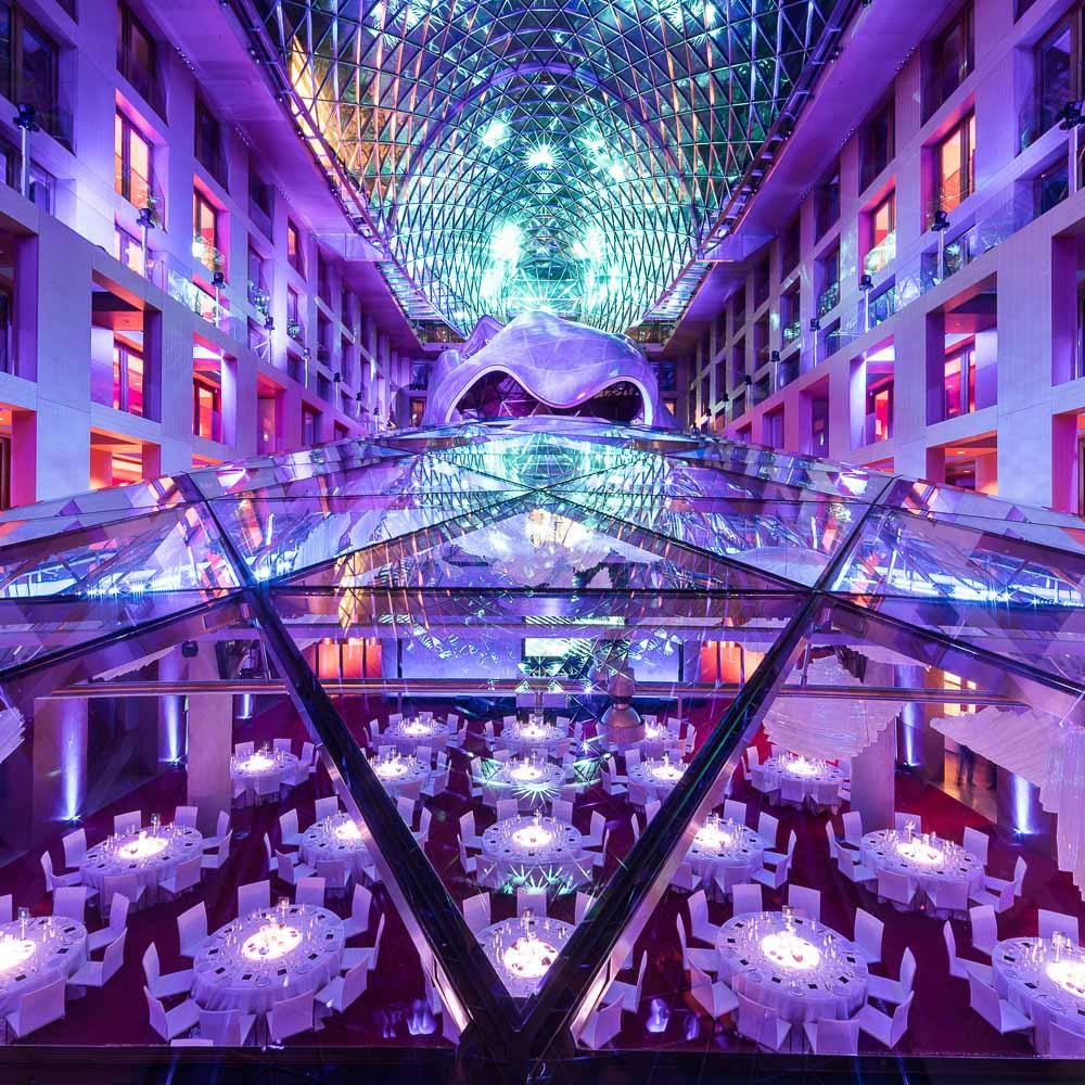 Event Location und Pop Up Restaurant Axica Berlin