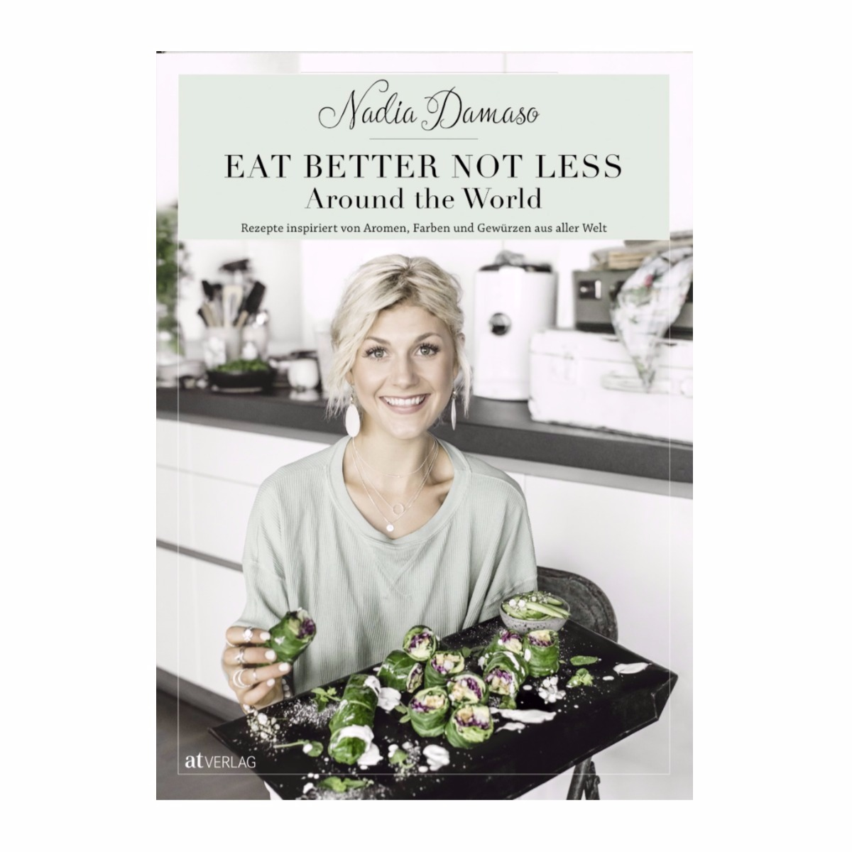 Kochbuch von Bloggerin Nadia Damaso