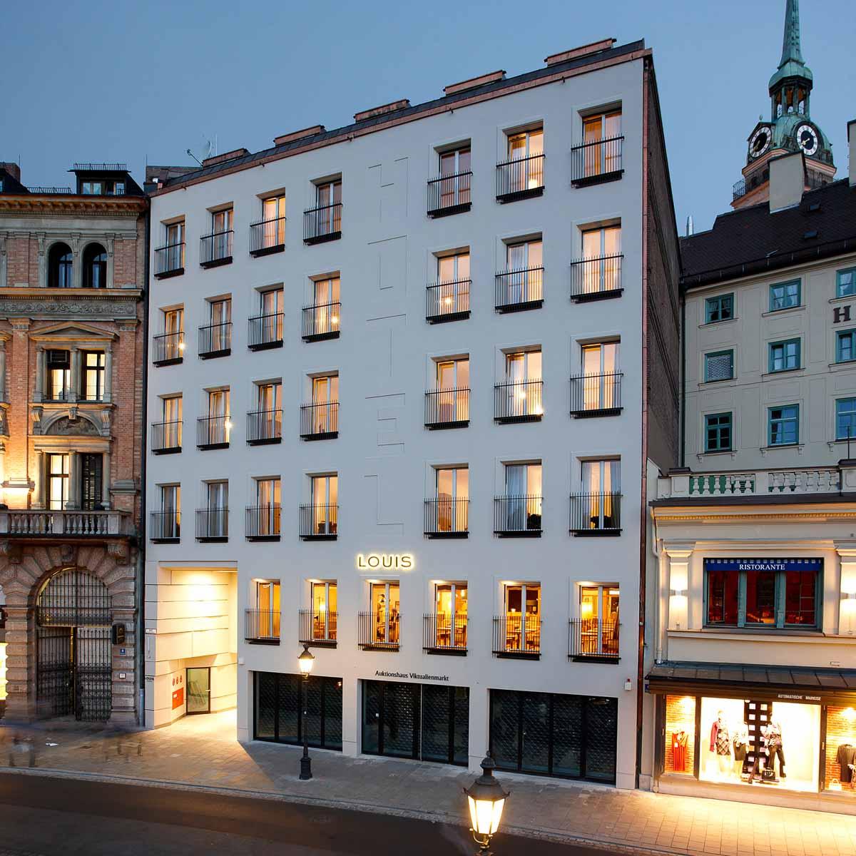 Louis Hotel München Altstadt Viktualienmarkt-5