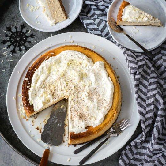 Rezept für Eggnog Cheesecak von von Lisa Nieschlag-2
