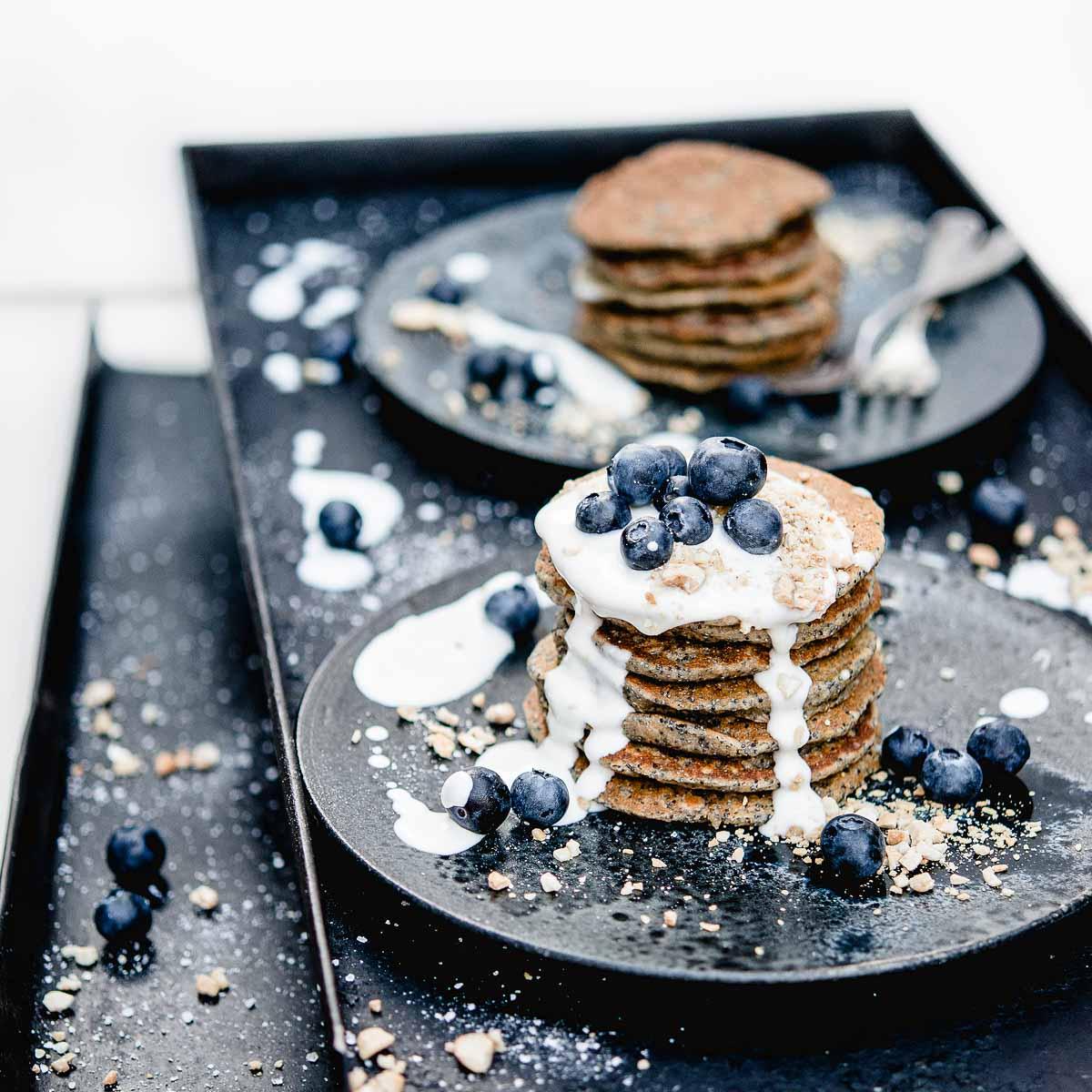 Rezept für Pancakes von Bloggerin Nadia Damaso