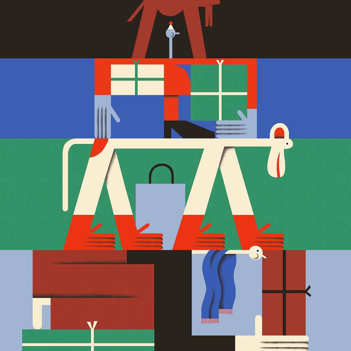 Bikin Berlin wihnachtlicher Verpackungs Service 2017-10