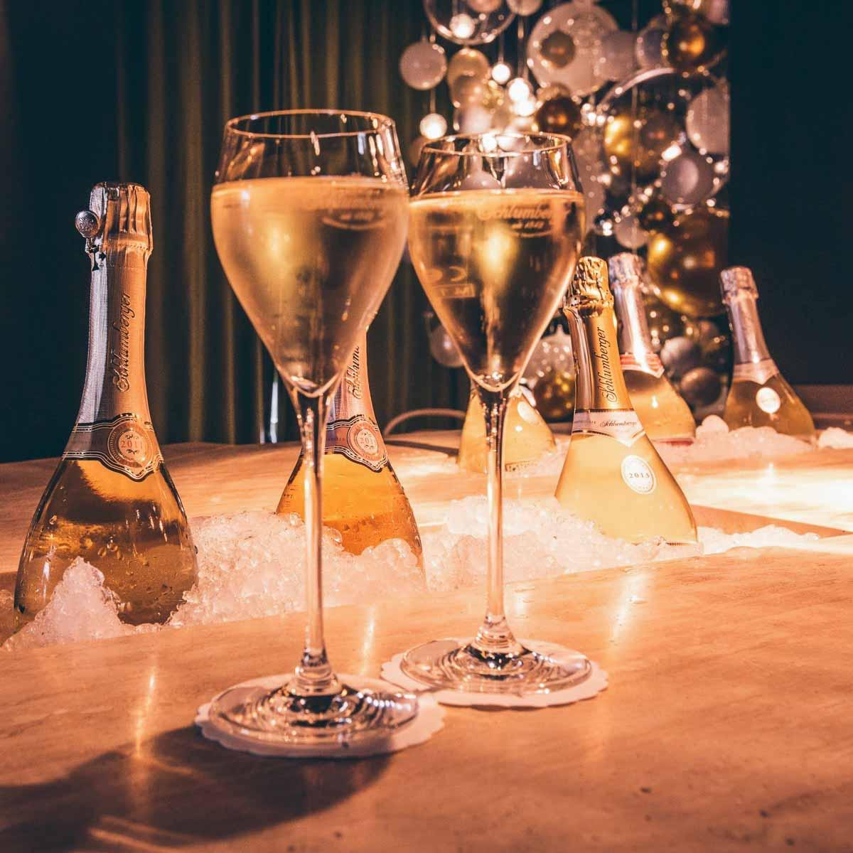Perlwerk Pop-Up Bar Muenchen Schaumwein