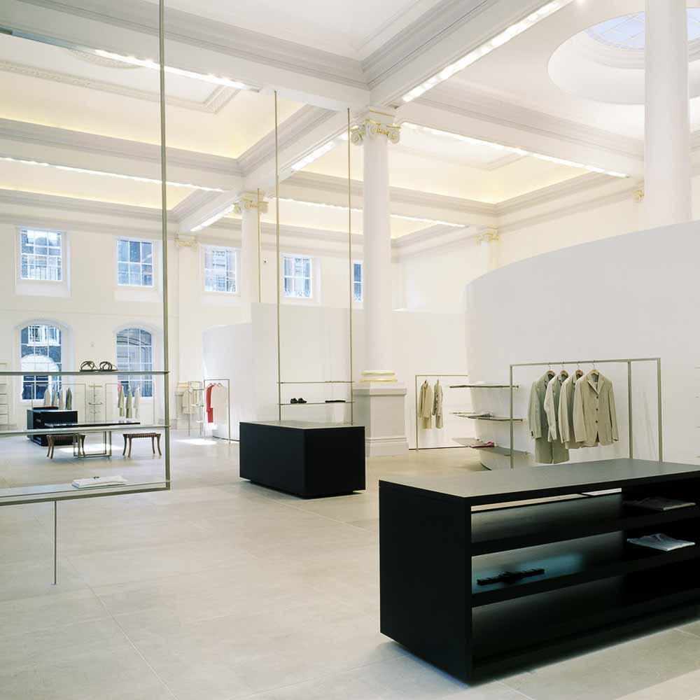 Jil Sander Ausstellung Präsens in Frankfurt