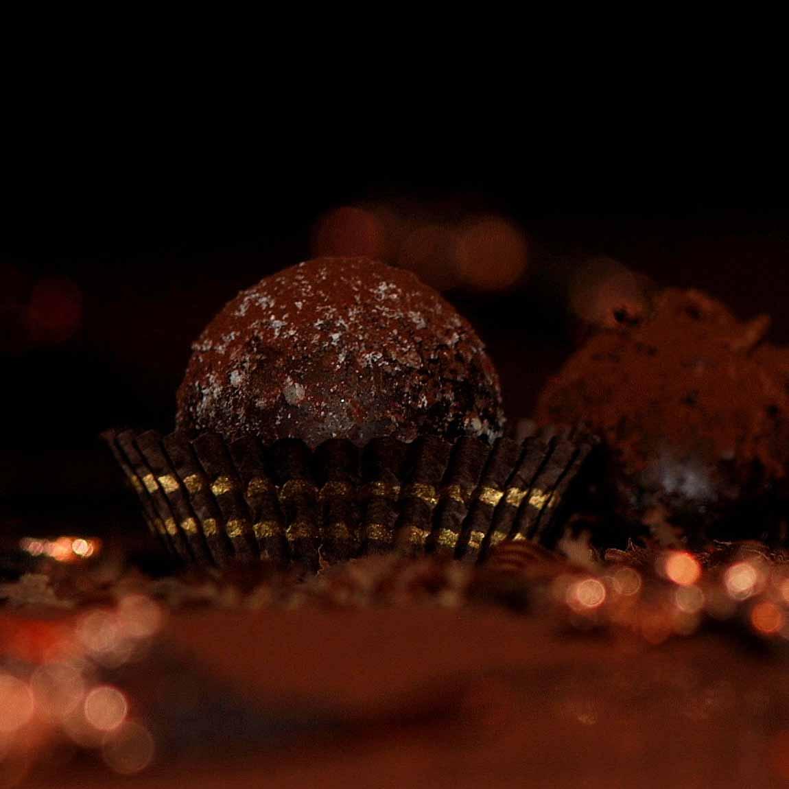 Schokolade in der Schokogalerie in Mitte