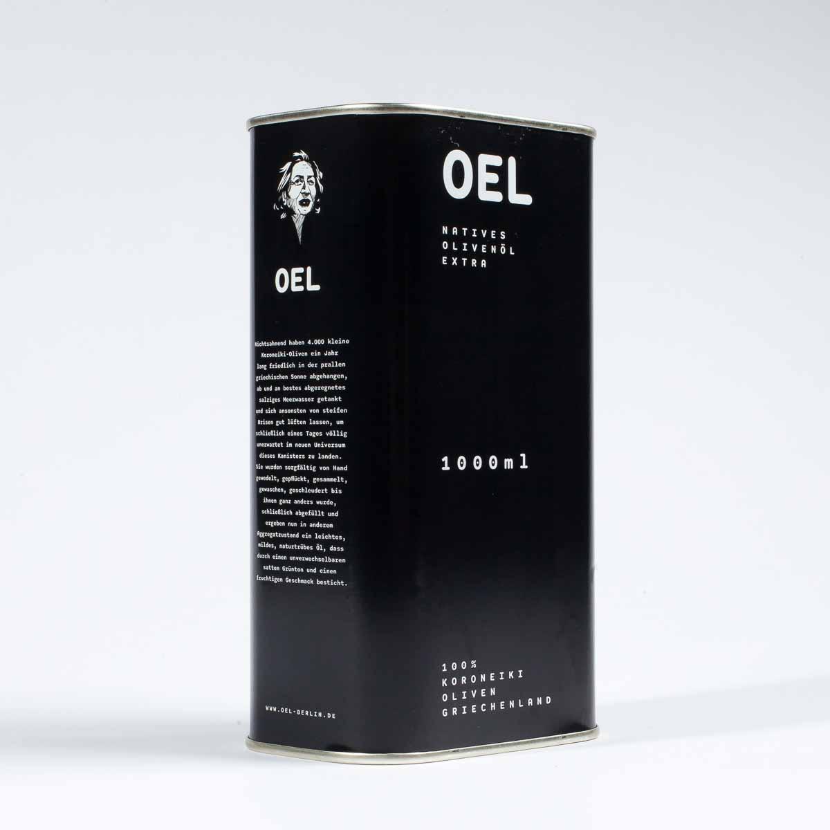 Sortenreines natives Koroneiki-Olivenöl online bestellen