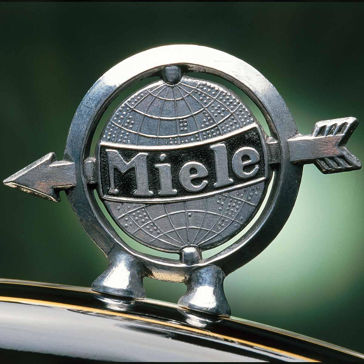 Traditionsmarke Miele Auto Markenzeichen