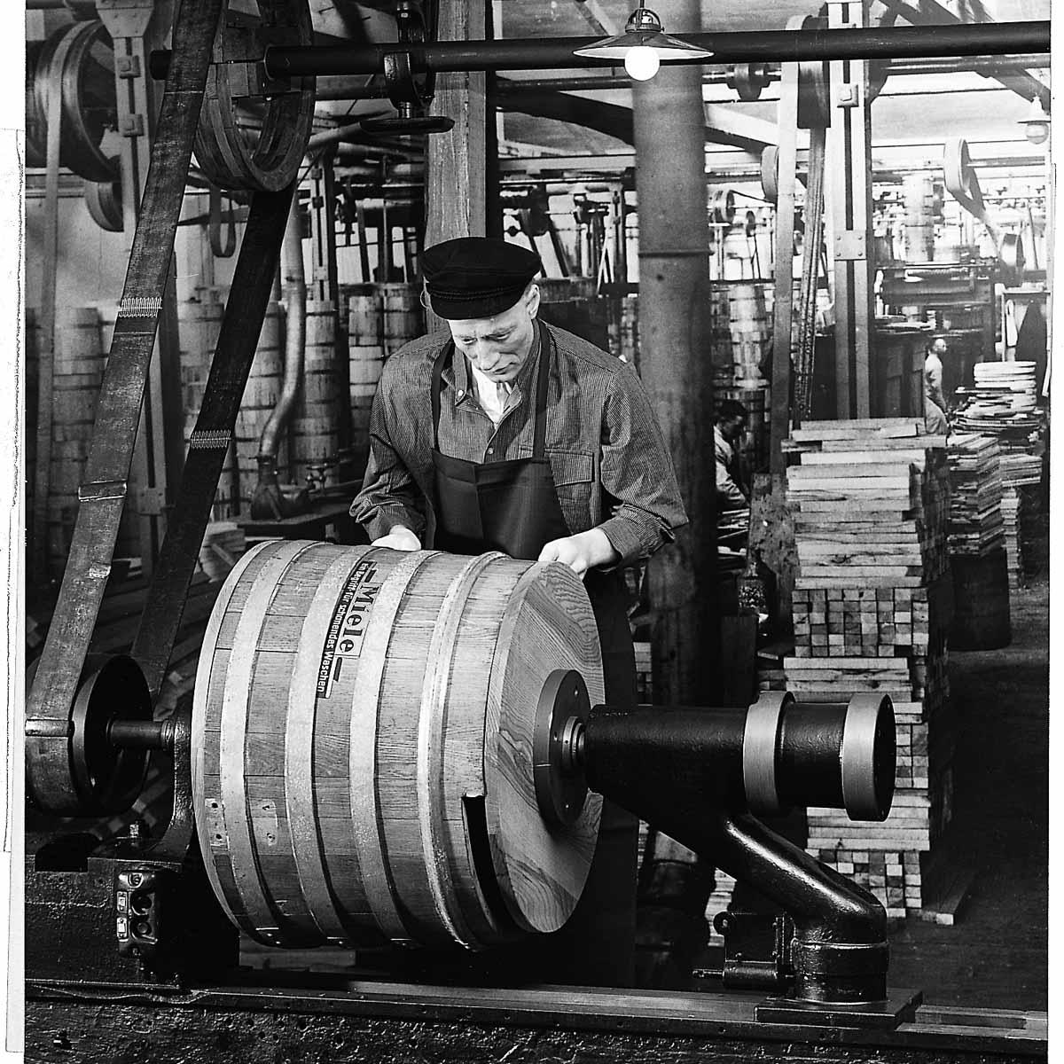 Traditionsmarke Miele Fabrik um die Jahrhundertwende