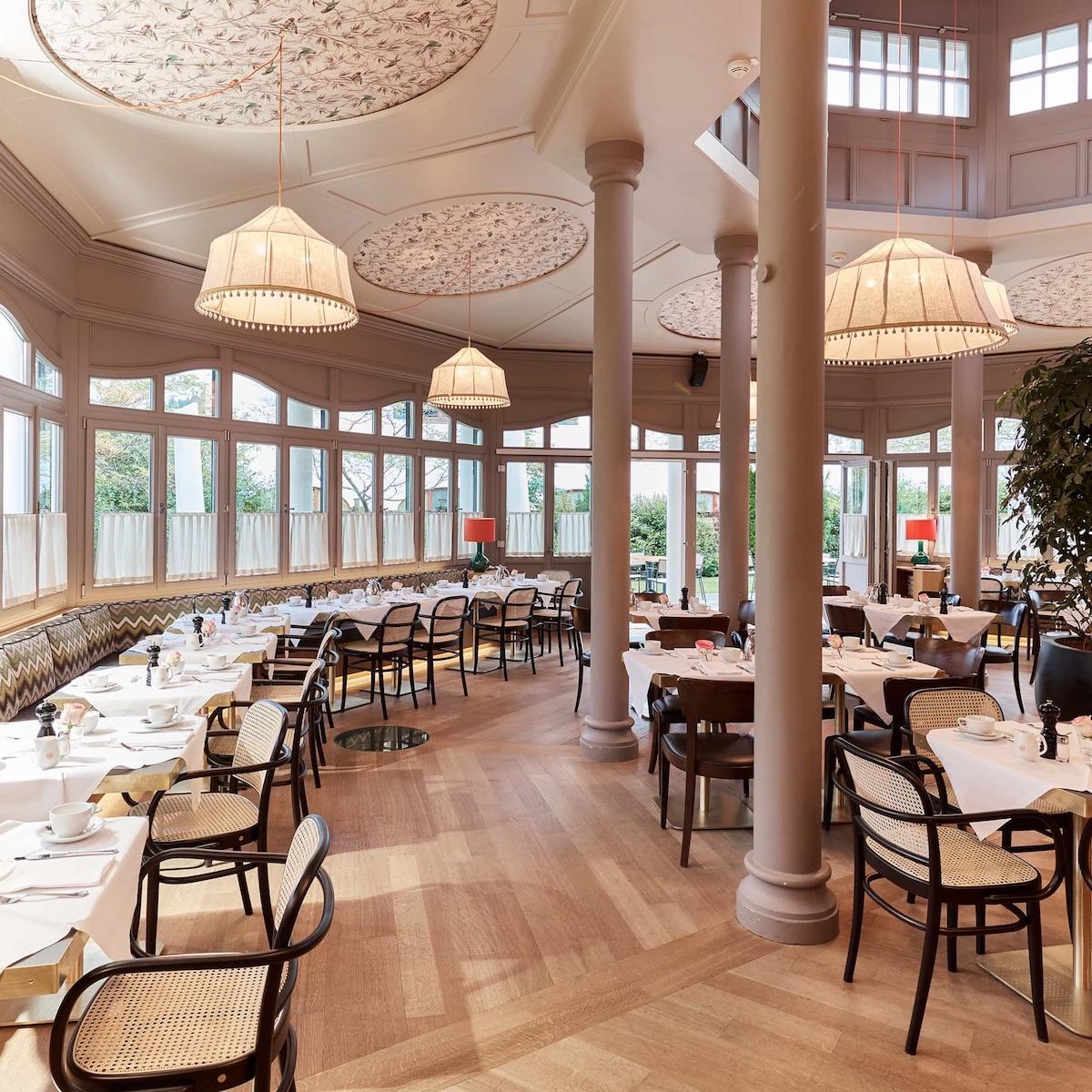 Hotel Bachmair Weissach am Tegernsee_Frühstückspavillon