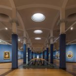 Wandelhalle der Gemaeldegalerie Berlin