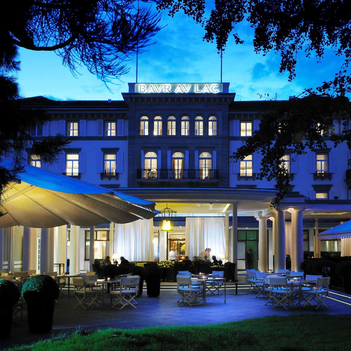 5 Sterne Hotel Baur au Lac Zürich