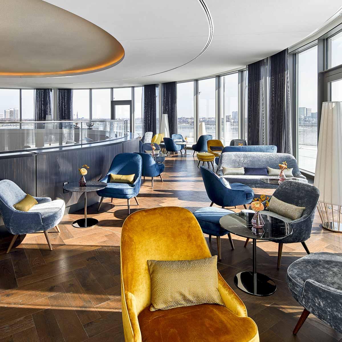 Bar im Hotel Fontenay Hamburg