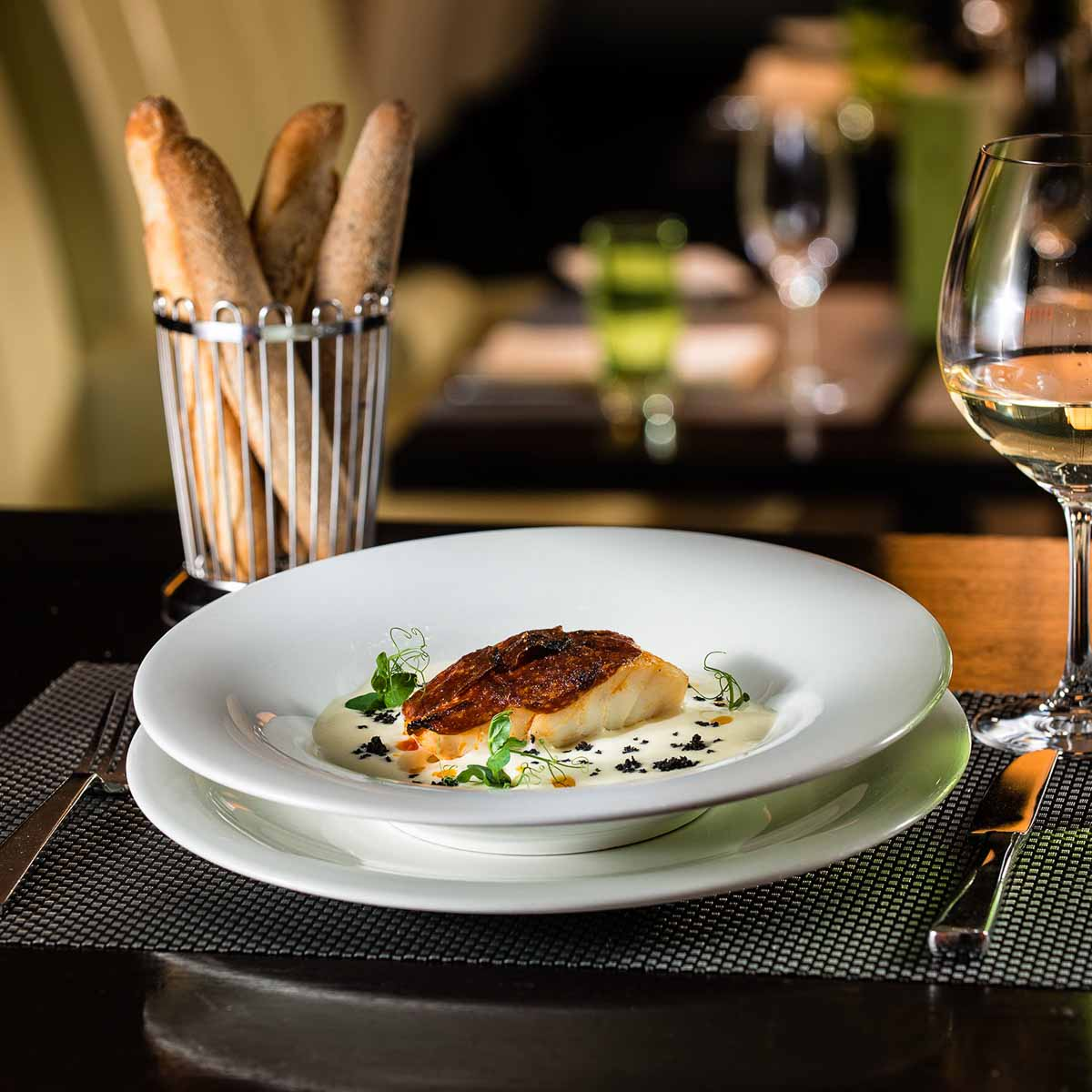 Restaurant Rive Gauche im Hotel Baur au Lac