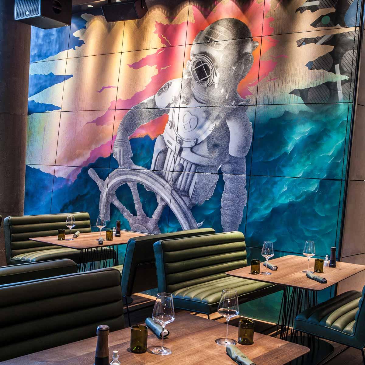 Restaurant Bar Spelunke am Donaukanal Wien © SybilleDremel