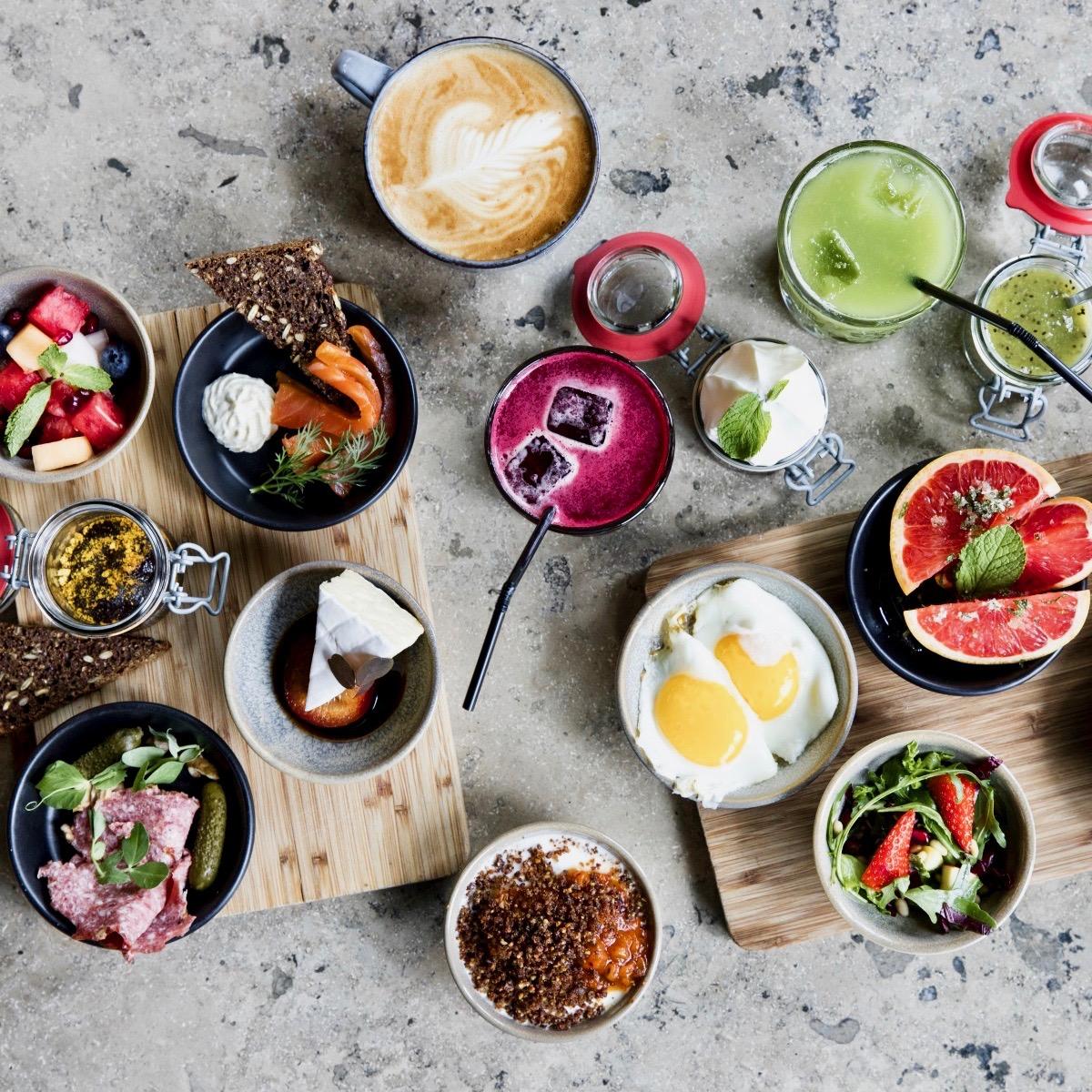 Frühstücks Café Wulff Konstali Kopenhagen