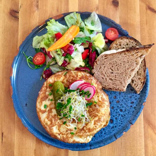Neumanns Cafe Friedrichshain Bauern Frühstück