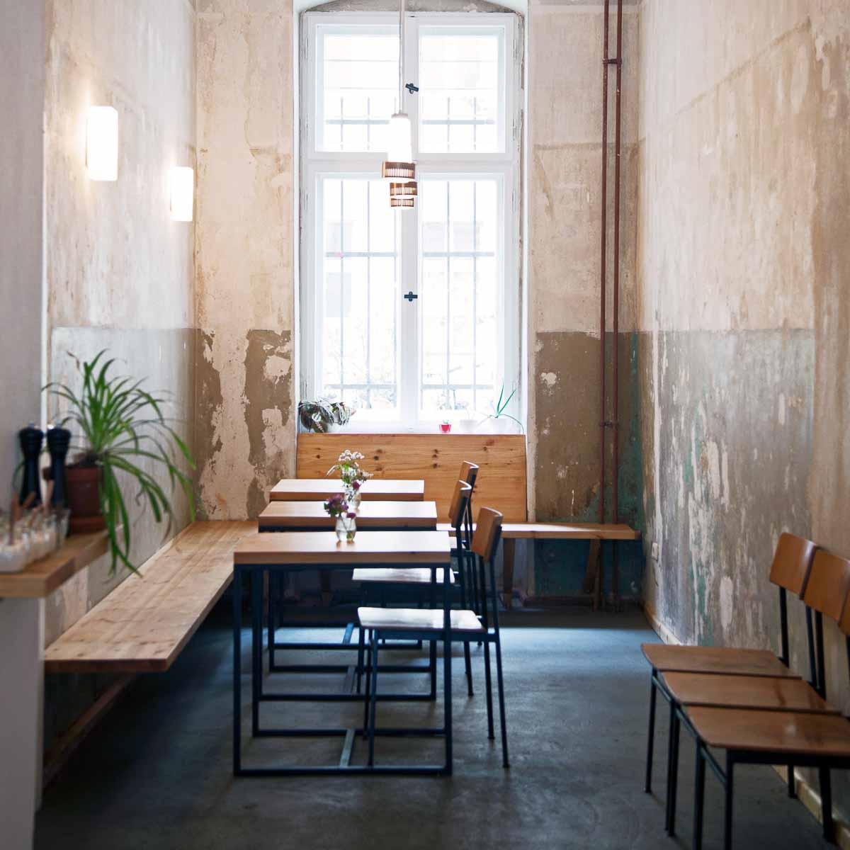 Neumanns Cafe Friedrichshain Interieur