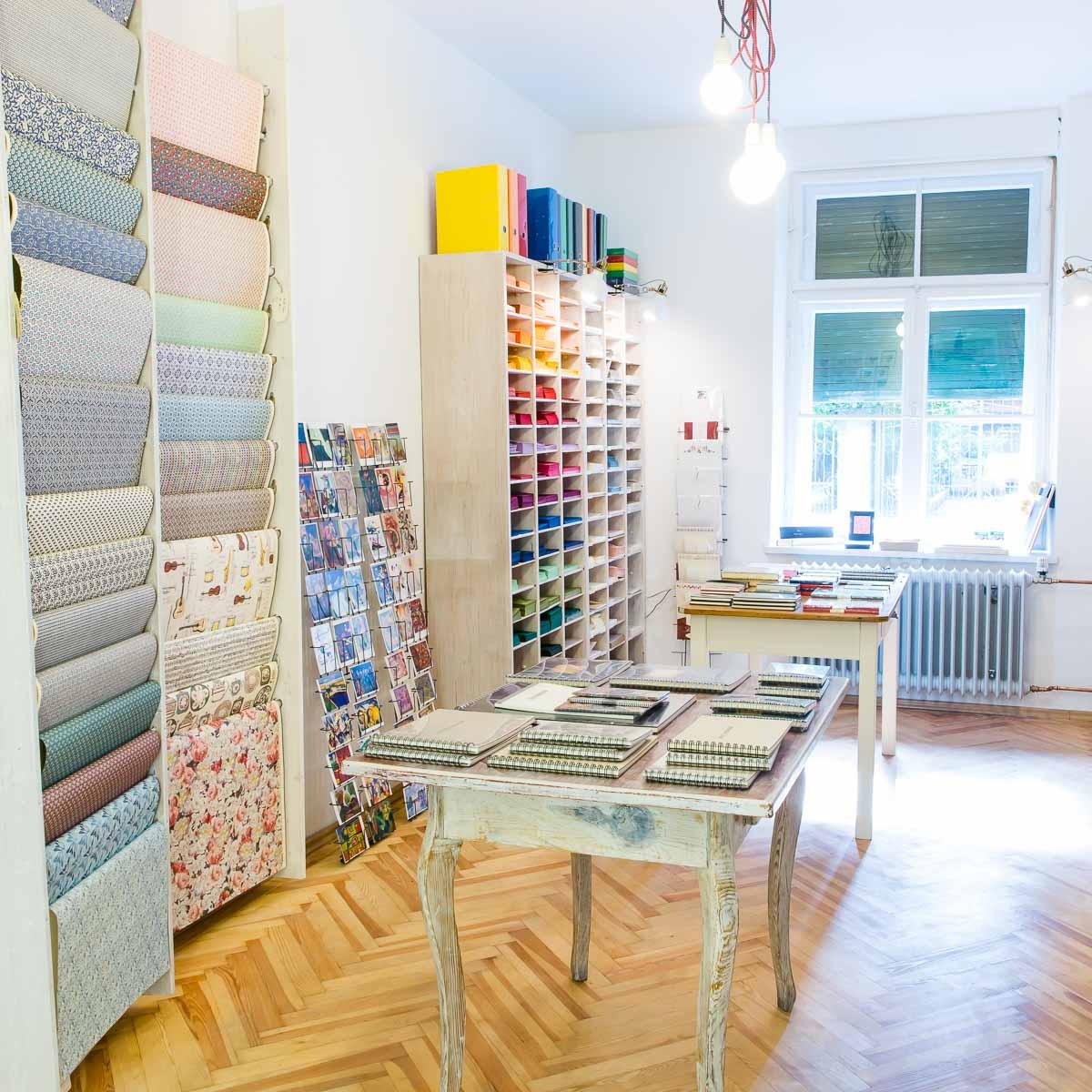 Papierladen Rosinger in München Haidhausen
