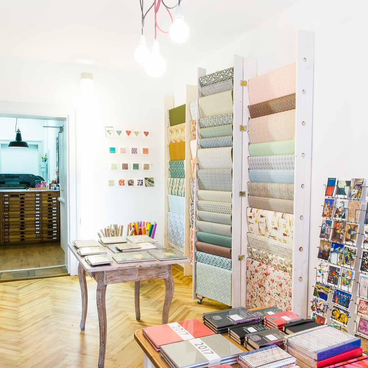 Papierladen und Werkstatt Rosinger in München Haidhausen