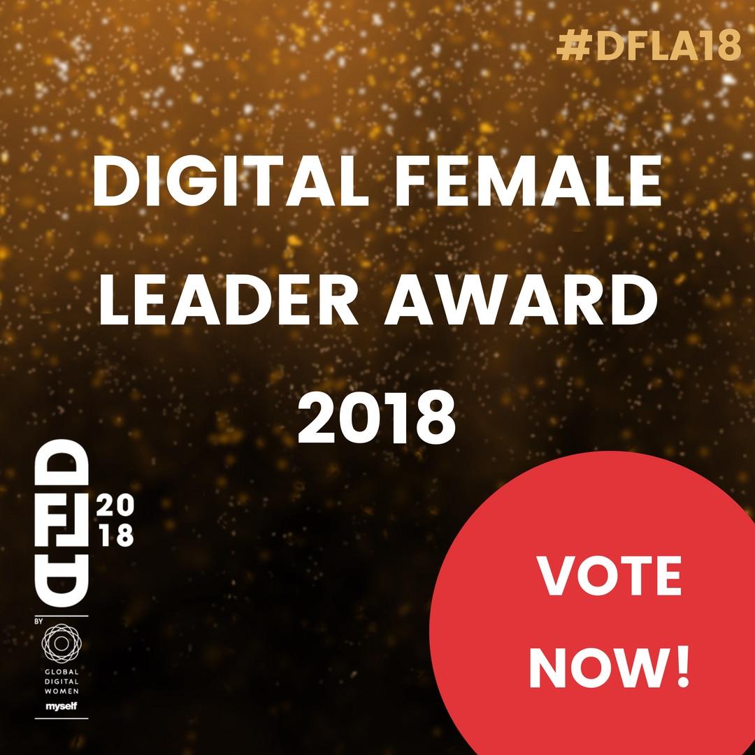 Female Digital Leader Award 2018