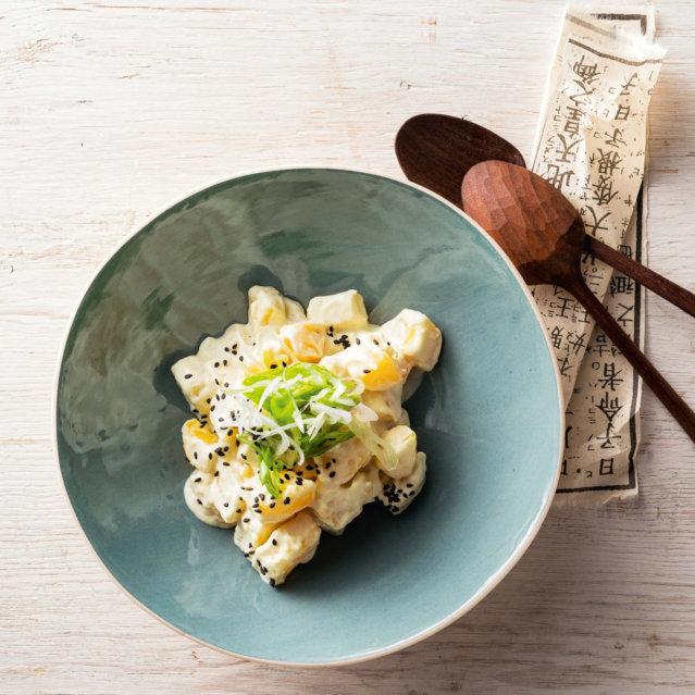 Kartoffel-Salat mit Wassabidressing von Stevan Paul