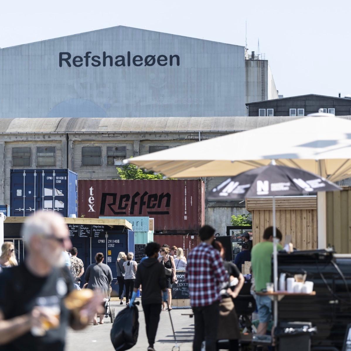 Reffen Markt für Streetfood und Kreative in Kopenhagen